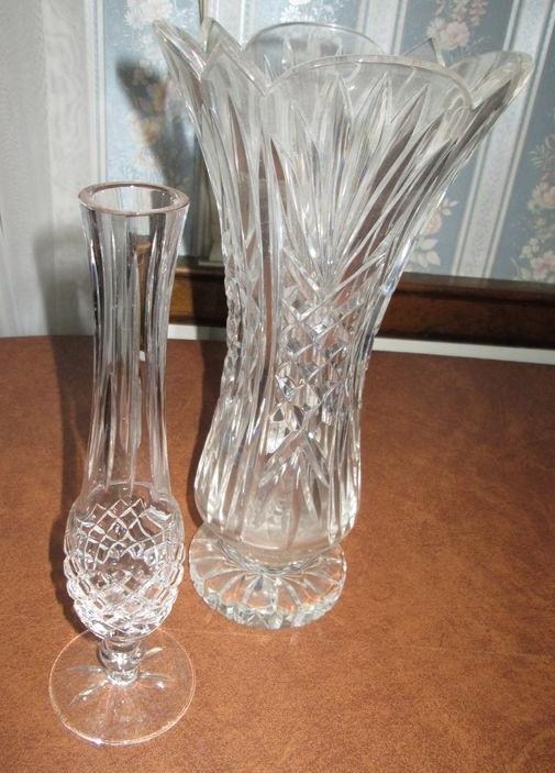 Lenox Crystal Flower Vase Flowers Healthy