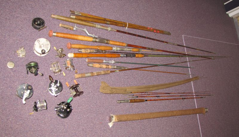 Antique bamboo fishing rods best 2000 antique decor ideas for Antique fishing poles