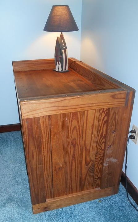 High Quality Item # 14    This End Up Crate Style Desk W/ Matching Chair And Desk Lamp.  Desk Has Three Drawers (bottom Is A File Drawer), 42.25u201dWx2u0027Dx30.5u201dH.  Matching ... Great Pictures