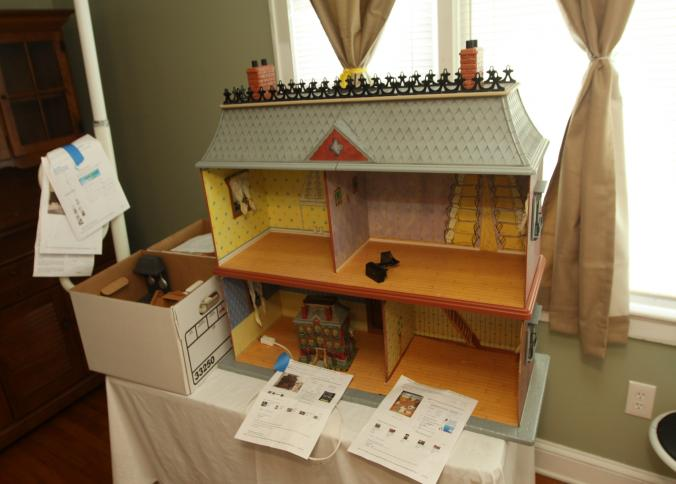 Good Item # 2    Madeline Dollhouse With Accessories And Dolls Incl Department  56 Story Brook Village Madelineu0027s Old House In Paris.