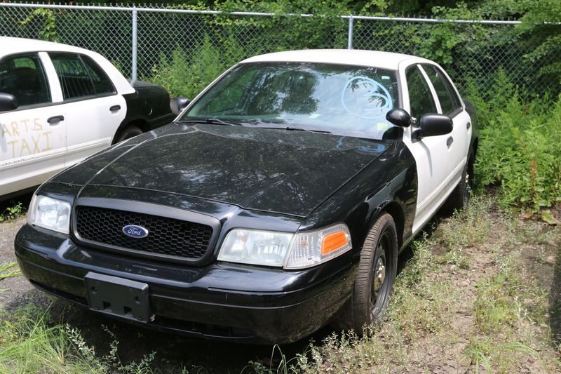 Item   Ford Crown Victoria Odometer Is Broken Last Known Mileage Is  Runs Needs Battery Drivers Seat Frame Needs Repair