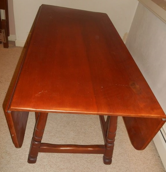 rock maple coffee table absolute auctions realty