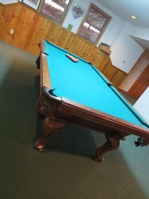 Whitewash Spice Islands Loop N Ball Table 19