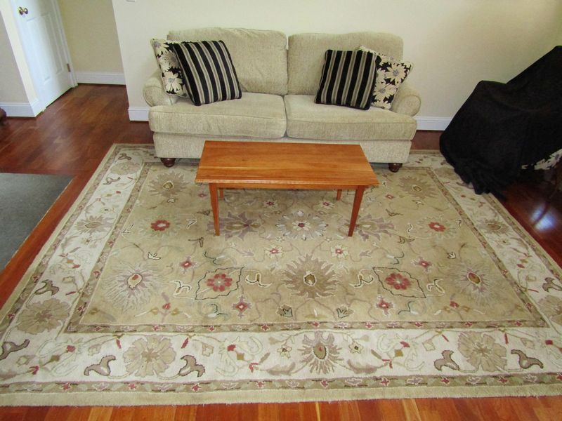 Item 3 Sofa Rug And Coffee Table Including Modern Emerald Craft 36 Tx84 Wx38 D Pine 17 Tx42 Wx21 8 X10 Kaleen Ay