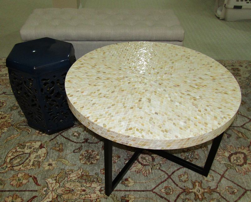 Mother Of Pearl Coffee Table Pier 1 Designs