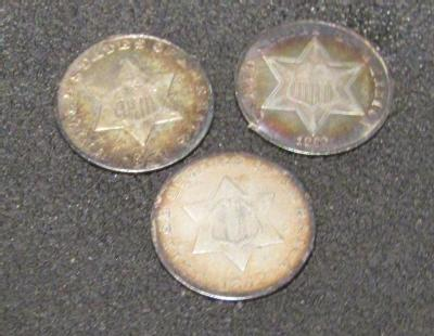 Copper  or  Silver  Rounds  3.25 X 3.25  with INSERTS 5  COIN FLIPS  5 OZ