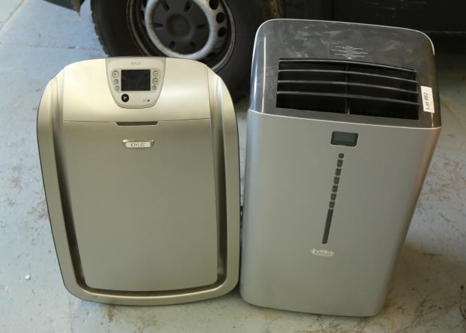item 82 idylis model btu portable air conditioner and idylis model iap10280 air purifier pickup can be completed on both days