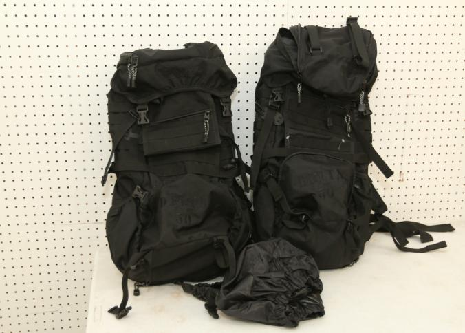 Item # 167    Two Rugged Exposure Delta 50L Internal Frame Packs, Black In  Color, Retail Value $79.99/each. Condition Not Verified.