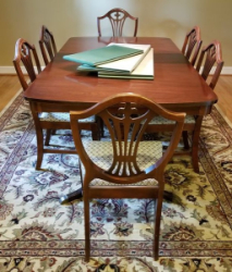 Absolute Auctions Realty - Custom table pads 69 usd