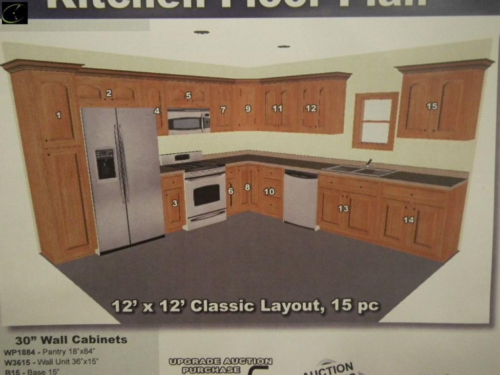 Kitchen Wall Cabinet Unfinished Oak 30 X 23 3 4 X 12