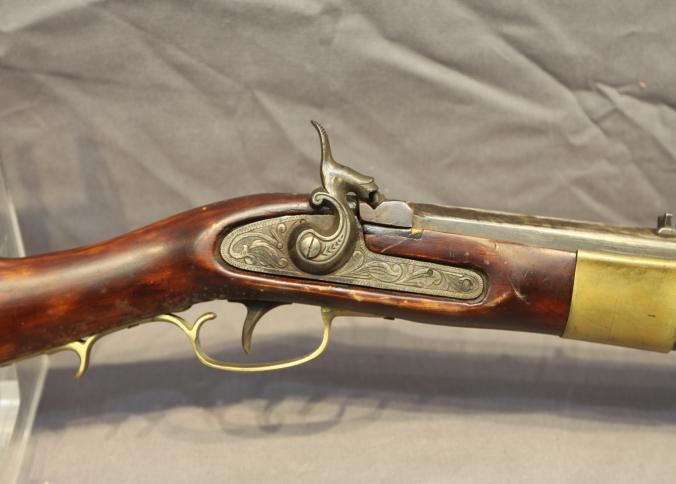 Octagon Barrel Black Powder Rifle