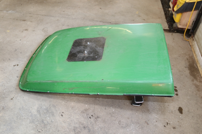 Item # 2 -- FemCo canopy roof. S/N 06814. Canopy came off of John Deere 1025R tractor. & Absolute Auctions u0026 Realty